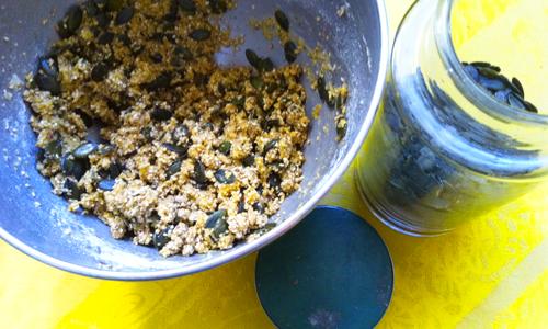 Gâteaux apéros aux graines par Tambouille
