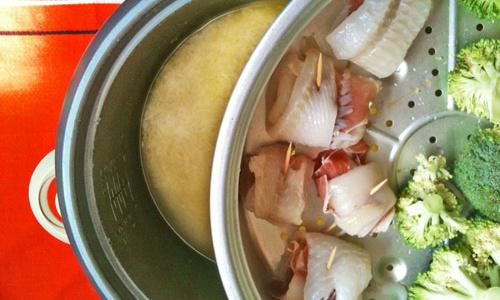 Déjeuner rice-cooker par Tambouille