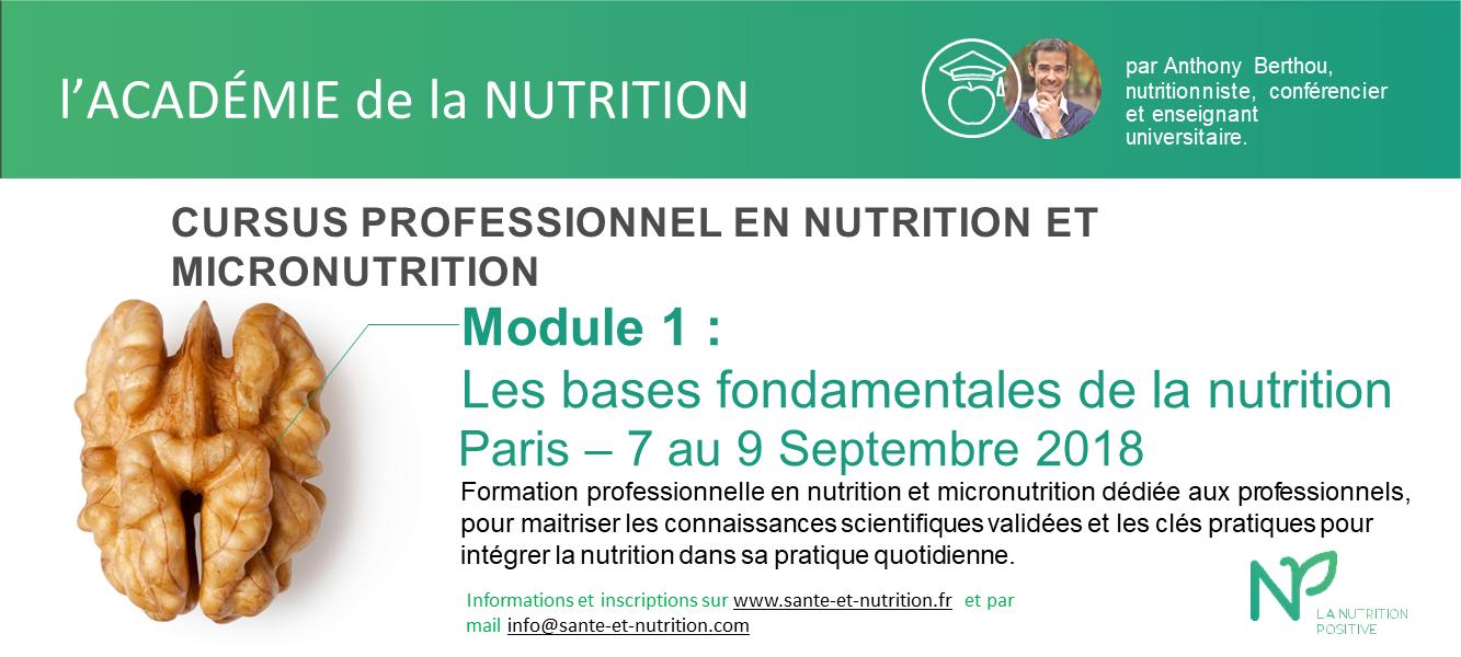 ACADEMIE-NUTRITION Paris M1 sept 18