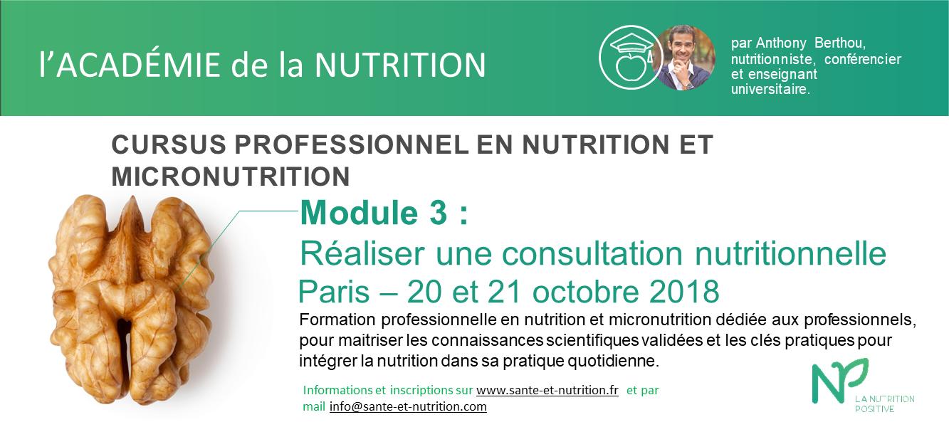 ACADEMIE-NUTRITION Paris M3 oct 18