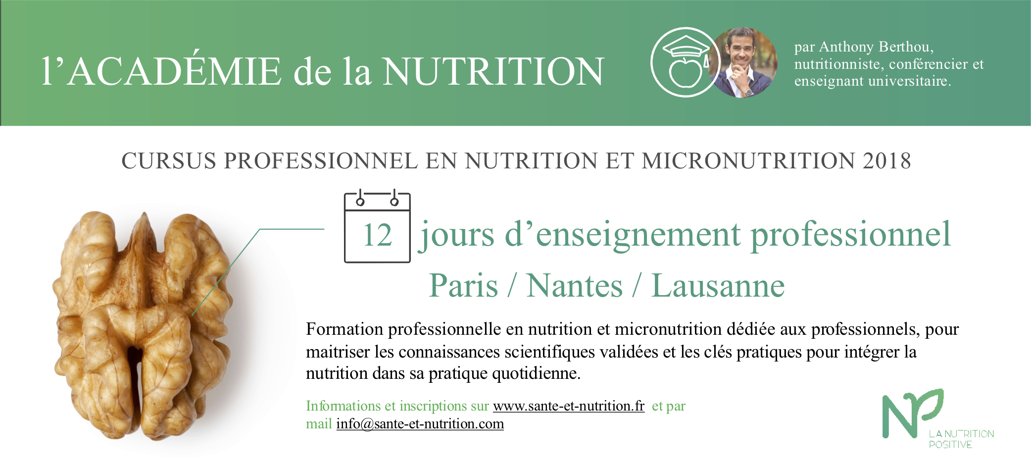 formation nutrition