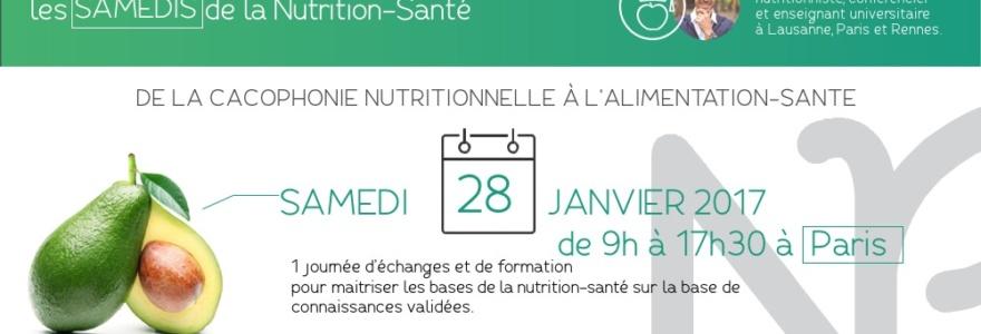 Les samedis de la Nutrition-Santé