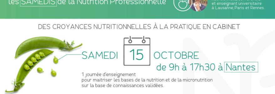 Les samedis de la nutrition professionnelle
