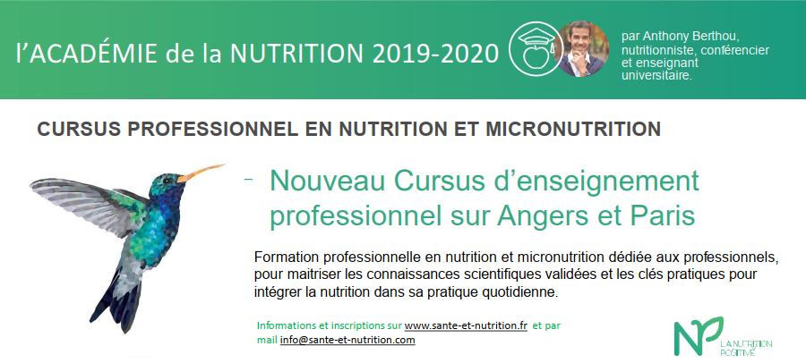 cursus pro 2019-2020 académie