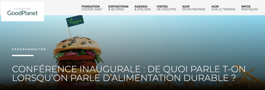 Conference: What are we talking about when we talk about sustainable agriculture and food?