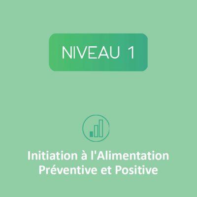 Initiation à l'alimentation préventive et positive