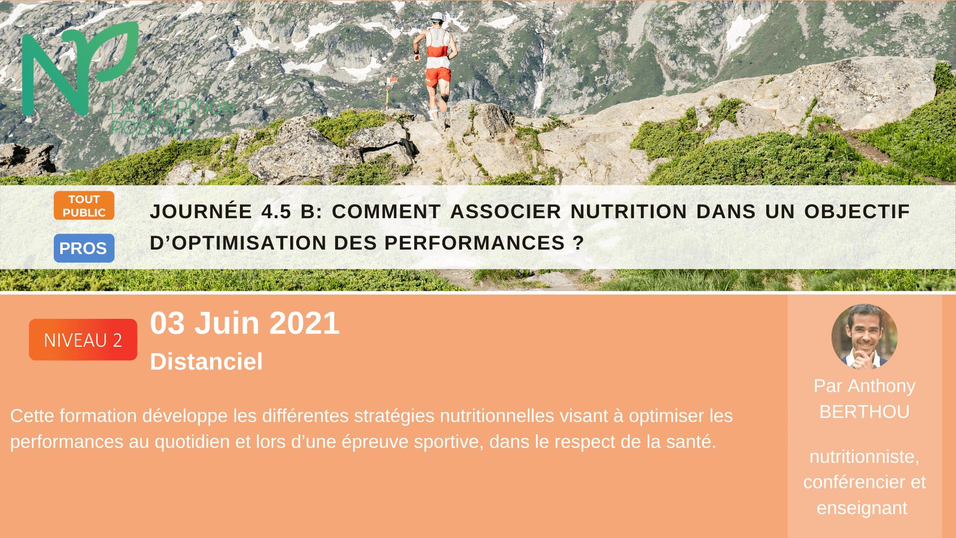 nutrition et performance